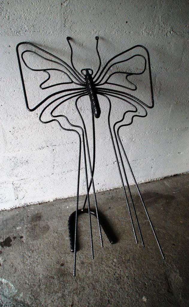 Papillon en jardin