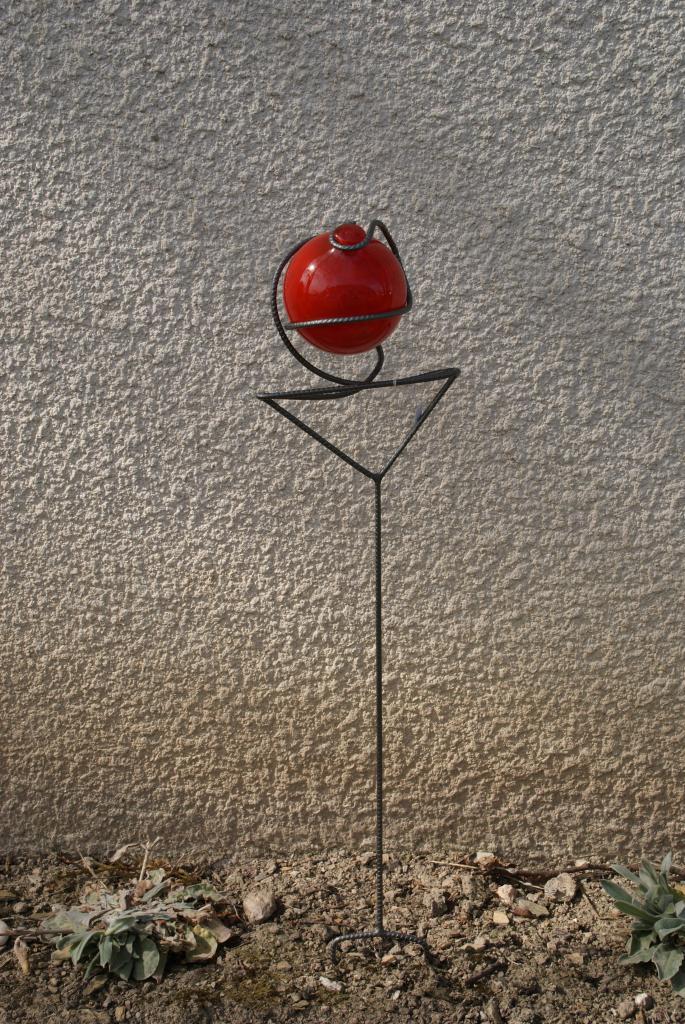 Déco-boule de jardin