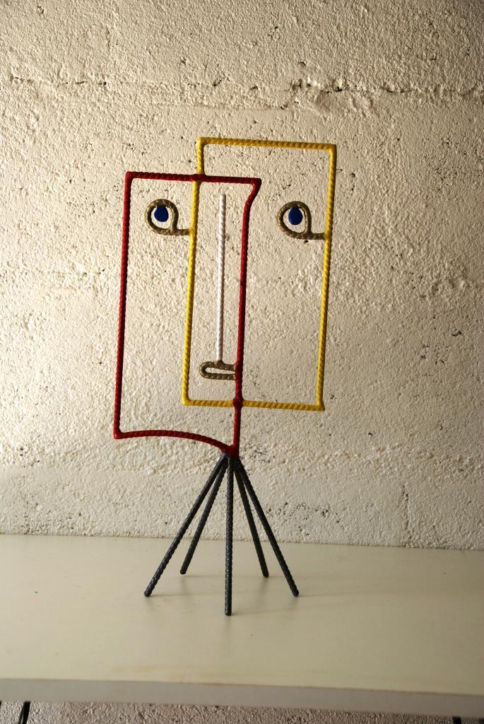 Tableau visage (inspiration Picasso)