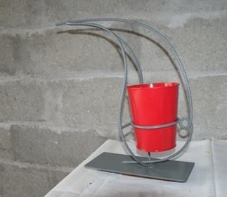 Vase cache pot